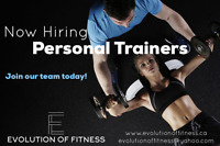 ** NOW HIRING PERSONAL TRAINERS!! **