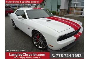 2012 Dodge Challenger SRT8 392 W/ PADDLESHIFTERS & NAVIGATION