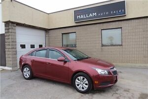 2012 Chevrolet Cruze LT Turbo Manual, Great on Gas WE FINANCE