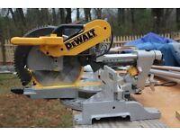 WANTED Double Bevel Sliding Mitre Saw
