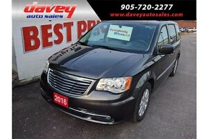 2016 Chrysler Town & Country Touring DVD, STO N GO, BLUETOOTH