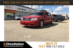 2014 Dodge Avenger SXT Red Sporty Sedan! FWD