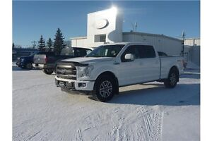 2015 Ford F-150 Lariat PST PAID! LOCAL TRADE!