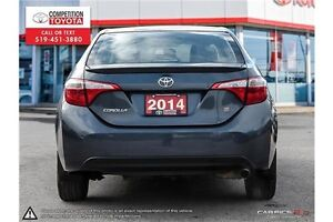 2014 Toyota Corolla S One Owner, No Accidents, Toyota Serviced London Ontario image 5