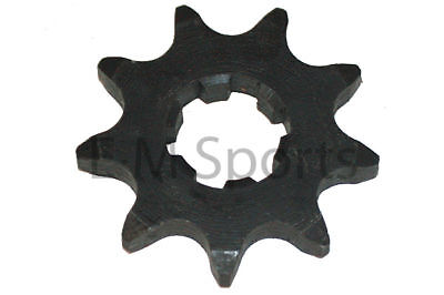Chinese Dirt Pit Bike Motor Parts 9 Tooth Front Sprocket 17mm Fits 420 Chains