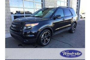 2015 Ford Explorer Sport 3.5L V6 ECO, 4WD, LEATHER, 7 PASS