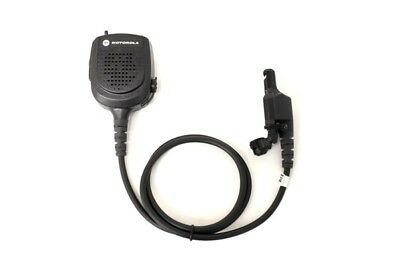 Motorola Public Safety Mic Rmn5073b Wrf Adapter Xts2500 Xts1500 24 Cord New