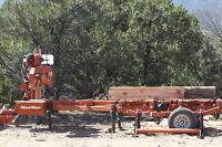 Wood Mizer Sawmill for hire