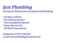 Plumber - Heating - Boilers - Bathrooms - Showers - Drainage