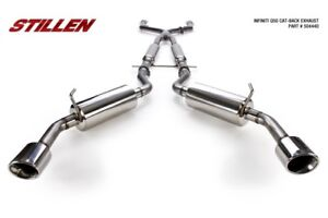 2014-15 Infiniti Q50 Stainless Steel Cat-Back Exhaust System