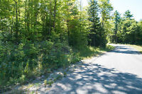 Wooded Property Bordered by 2 Roads - Near Bon Echo