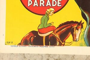 Original Vintage Advertising Poster/Sign 1930's Parker & Watts Edmonton Edmonton Area image 2