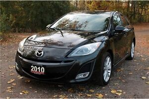 2010 Mazda 3 GT | ONLY 80K | CERTIFIED