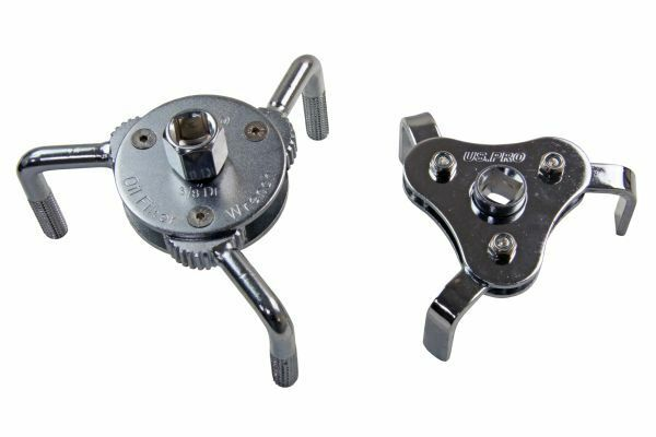 2pc Oil Filter Wrench Set Adjustable US PRO 3097