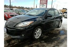 2013 Mazda 3 GS-SKY GS-SKY !! LEATHER !! SUNROOF !! BLUE-TOOT...