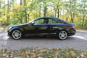 2009 Mercedes-Benz C-Class   AWD 4Matic   CERTIFIED Kitchener / Waterloo Kitchener Area image 2