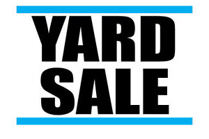Northward Yard Sale (Sunday Weather Permitting)