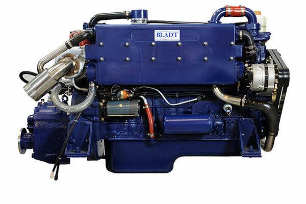 Bladt Diesel 200 PS Innenbordmotor (Segelboot / Motorboot Gleiter / Verdränger)