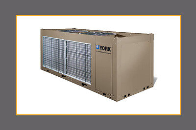 2018 YORK 20 ton Air Cooled Chiller, NEW w warranty, IN STOCK low ambient, R410a