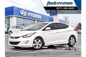 2013 Hyundai Elantra GLS MANUAL | GLS | LOW KMS | Sunroof | H...