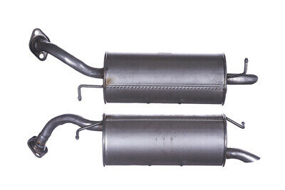 Exhaust Rear Back Box Tail Pipe For Toyota Yaris 1.0 Finisher GTY581