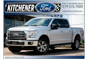 2015 Ford F-150 XLT XLT/XTR/CREW/5.0L/CAMERA/300A/18CHROME/WA...