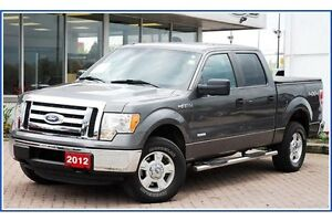 2012 Ford F-150 XLT/CREW/4X4/3.5 ECO/TOW PCKG/ALLOYS/ Kitchener / Waterloo Kitchener Area image 3