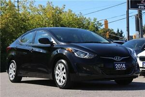2014 Hyundai Elantra ONLY 63K! **CLEAN CARPROOF** HEATED SEATS