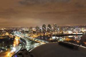 Avail immediately - 1 Bedroom + Den DT Spectrum with water views
