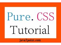 Pure.CSS Tutorial for Beginners and professionals - JavaTpoint