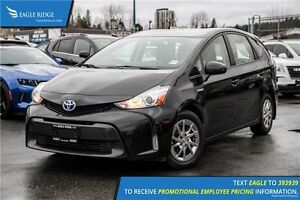 2015 Toyota Prius v Base CD Player and Climate Control