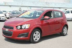 2014 CHEVROLET SONIC A/C+TAUX @ 0.9%+BLUETOOTH