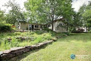 Cloverville: Spacious 5 bdrm family home is nestled on 6 acres