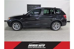 2013 BMW X3 xDrive28i AWD, LEATHER, HEATED SEATS