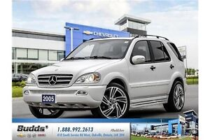 2005 Mercedes-Benz M-Class Safety and E-Tested.