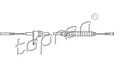 Vw Bus Accelerator - TP Accelerator Cable Fits VW Transporter Caravelle T3 Box Bus 251721555P