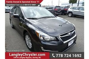 2015 Subaru Impreza w/Safety Rear Camera & Heated Seats