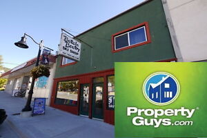 Commercial building with 2 rental suites in Rossland 197961