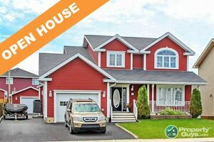 OPEN HOUSE! Beautifully designed 4 bed/4 bath executive home