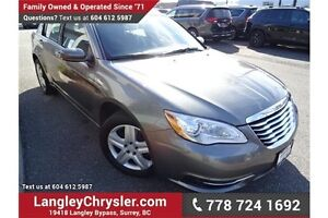 2013 Chrysler 200 Limited W/ All Power Accessories & A/C