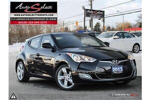 2013 Hyundai Veloster ONLY 49K! **BACK-UP CAM** CLEAN CARPROOF