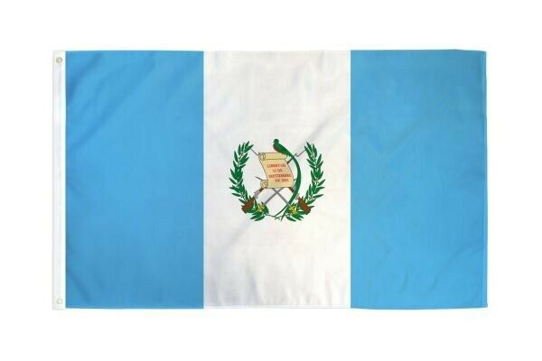 Guatemala 3'x5' Flag / Bandera De Guatemala 3'x5 (incluye Regalito Sorpresa)