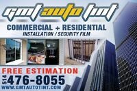 COMMERCIAL AND RESIDENTIAL WINDOWS TINTING