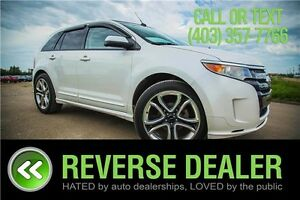 2012 Ford Edge Sport ** MOONROOF, ALL WHEEL DRIVE, LEATHER **