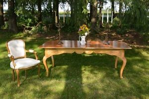 Antique French Style Harvest Table - free delivery