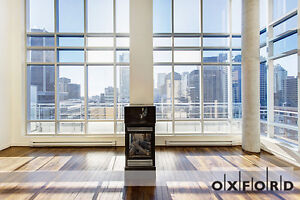 Luxury 2 Bedroom Penthouse in Downtown Montreal- Avail July 1st