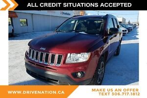 2011 Jeep Compass Sport/North 4X4 SUV, COMMAND START, POWER S...