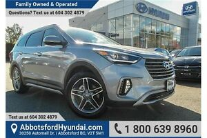 2017 Hyundai Santa Fe XL Limited ACCIDENT FREE & LOCALLY OWNED
