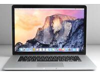 WANTED - MacBook Pro 2012 - i7 processor - 15 inch screen