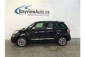 2015 Fiat 500L LOUNGE- TURBO! PANOROOF! LEATHER! NAV! UCONNECT!